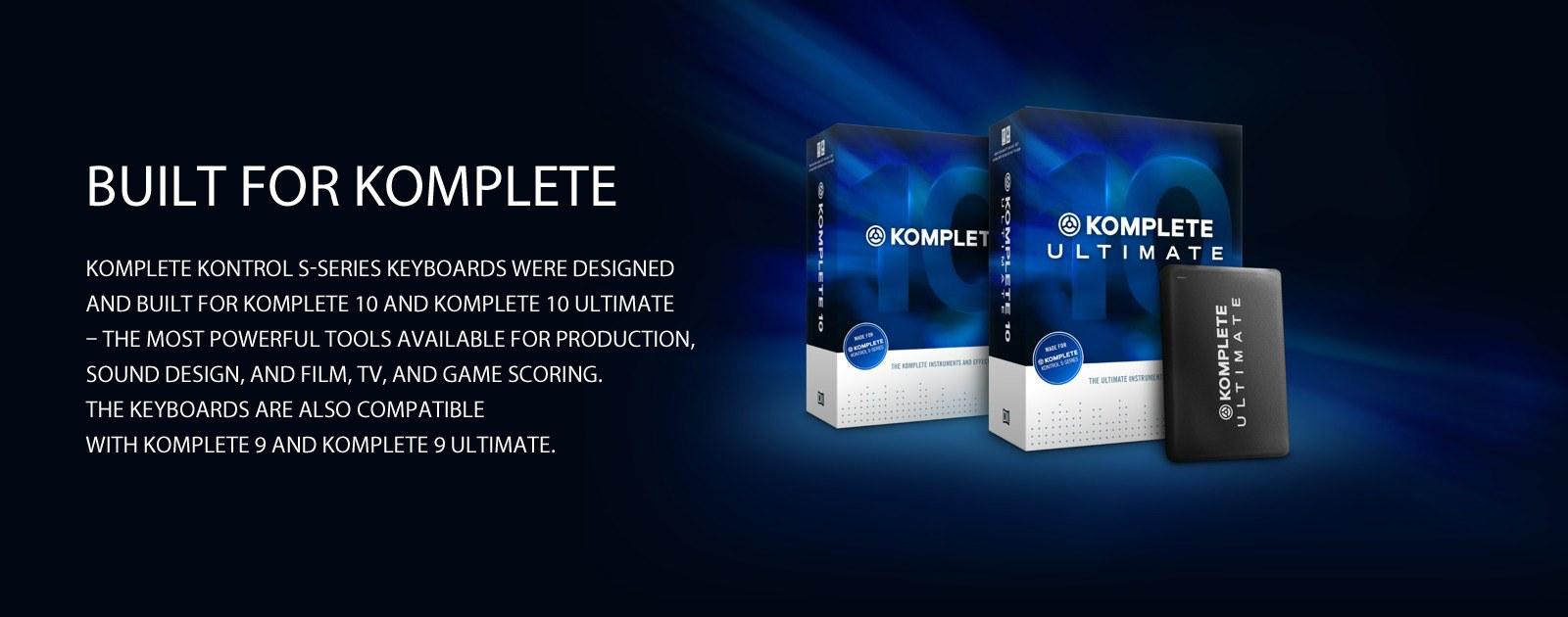 komplete kontrol - built for komplete