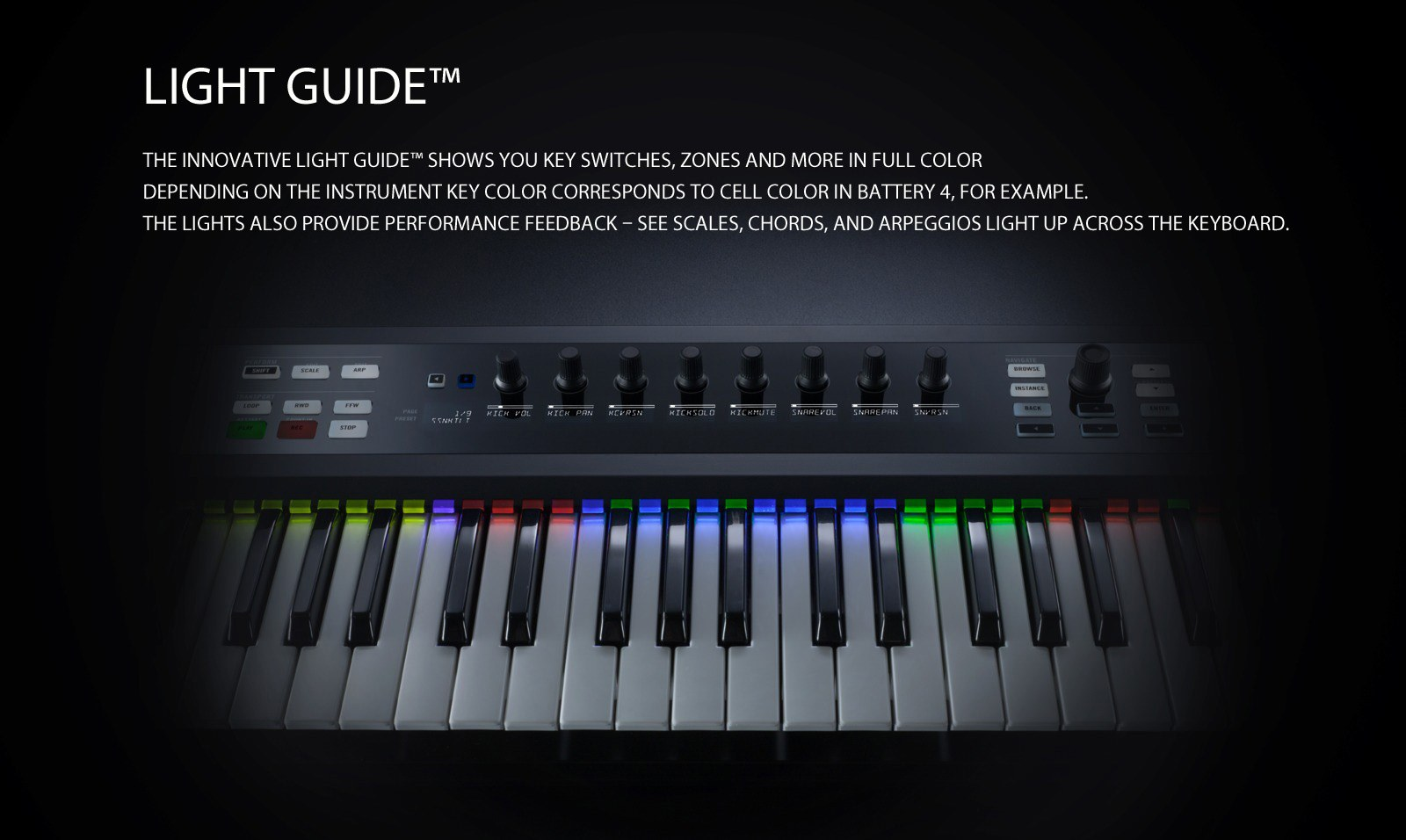 komplete kontrol - lightguide