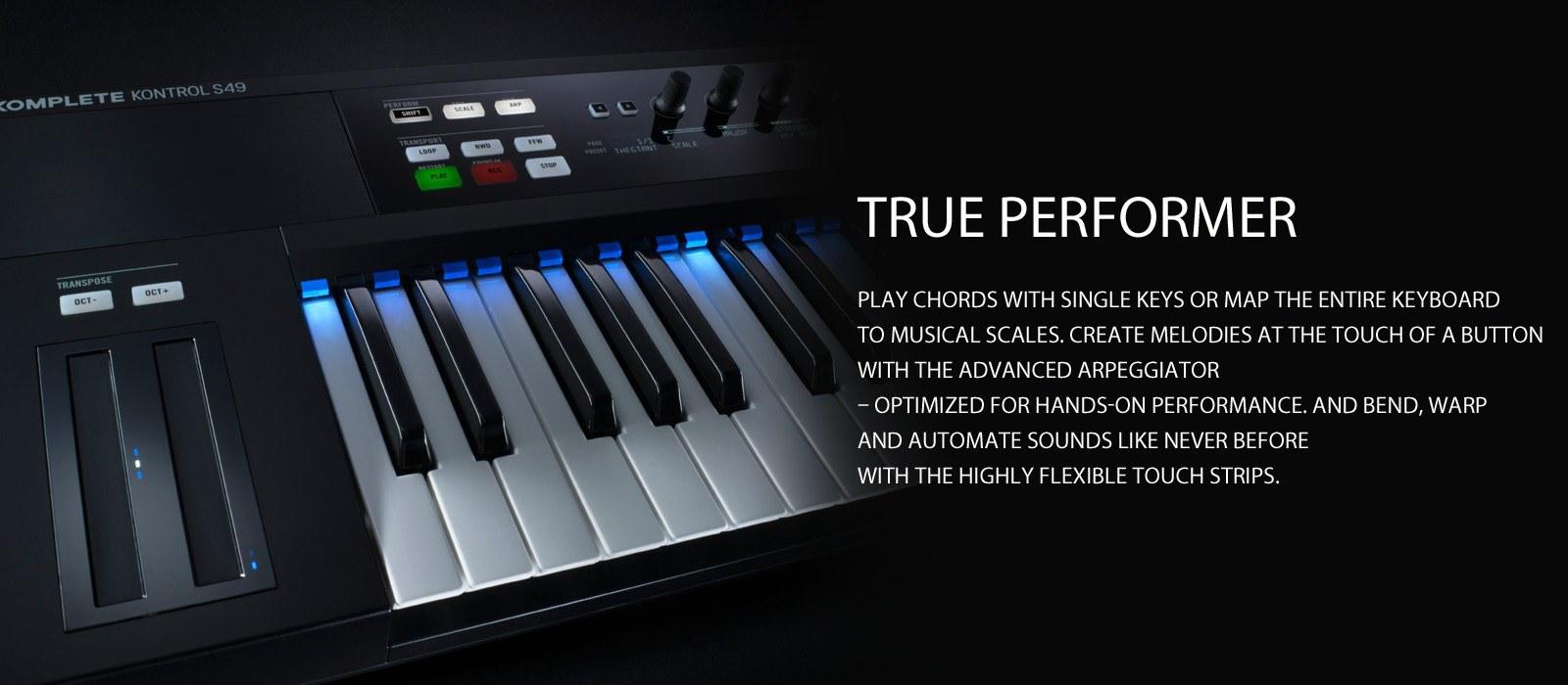 komplete kontrol - true performer