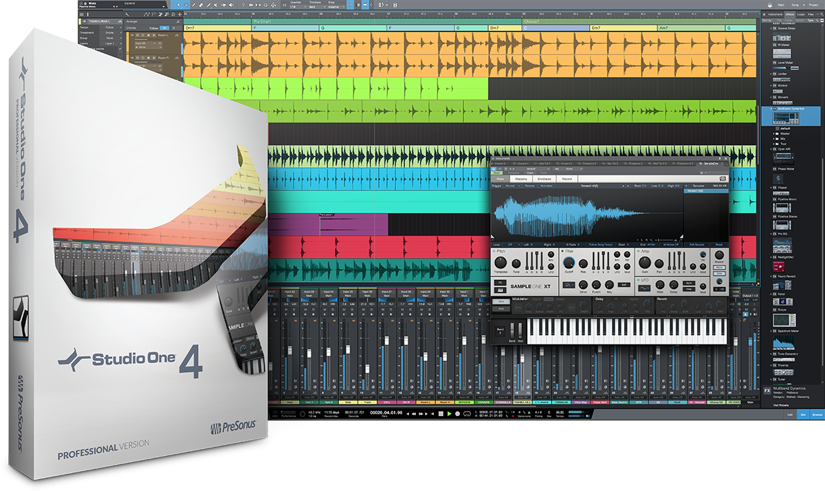 Presonus Studio One 4 Professional