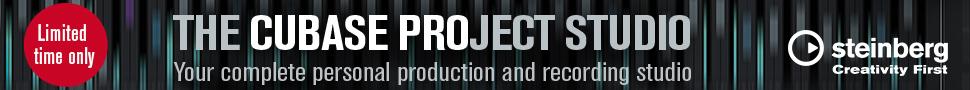 Steinberg Cubase Project Studio banner